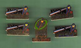 CYCLISME *** TOUR DE FRANCE 91 LYON *** Lot De 5 Pin's Differents *** 1071 (29) - Ciclismo