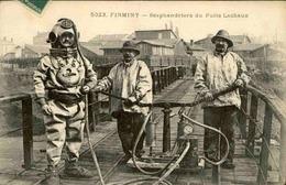 FRANCE - Carte Postale - Firminy - Scaphandrier Du Puits Lachaux - L 66051 - Firminy