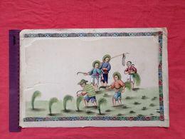 China Rice Paper Harvesting - Arte Orientale
