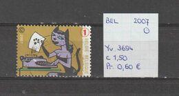 België 2007 - Yv. 3694 - OCB 3713 Gest./obl./used - Belgium