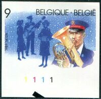 13189086 BE 19891118; Noël, Armée Du Salut, Musique; ND Cob2345 N°533 - Belgium