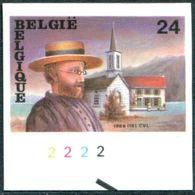 13189091 BE 19891125; Père Damien, Lèpre, Hawaii; ND Cob2346 N°533 - Belgium