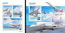 Togo 2020, Concorde, 4val In BF+BF - Concorde