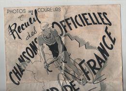 Recueil Des Chansons Officielles Du Tour De France 1947 Editions Beuscher - Cycling