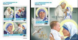 Togo 2020, Mother Teresa, J. Paul II, 4val In BF+BF - Mother Teresa
