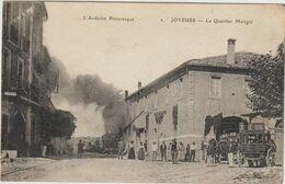 Joyeuse -Le Quartier Maligni- Diligence -train---(D.8346) - Joyeuse