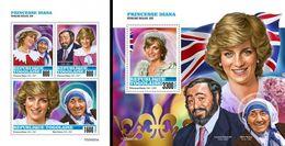 Togo 2020, Diana, Pavarotti, Mother Teresa, 4val In BF+BF - Mother Teresa