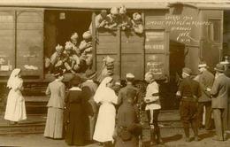 MILITARIA - Carte Postale Photo - Limoges - Passage Des Troupes Hindoues En Chemin De Fer - L 66059 - Guerre 1914-18
