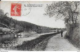 44 -- GUENROUET - LE CANAL DE NANTES A BREST - PENICHES - Guenrouet