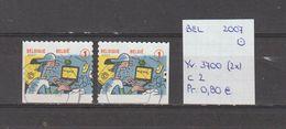 België 2007 - Yv. 3700 (2x) - OCB 3719/a Gest./obl./used - Belgium