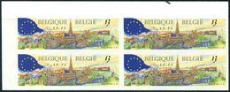 13189436 BE 19890603; Bx, Elections Parlement Européen; Bl4 ND Cob2326 N°337à340 - Belgium