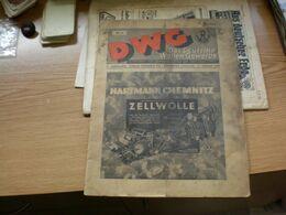 Das Deutsche Wollen Gewerbe 1939 Hartmann Chemnitz Zellolle Textilmaschinen - Cataloghi