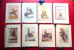 Otto Calendari Associazione Nazionale Arma Di Cavalleria 1980-1987 Militaria - Calendars
