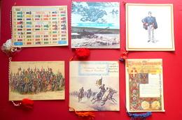 Sei Calendari Associazione Nazionale Arma Di Cavalleria 1974-79 Militaria - Calendars