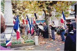 Photo Originale : SAINT-UZE - Drôme : Monument Aux Morts : ( F.N.A.C.A. St. Uze ) - Militaire - Militaria - - Lieux