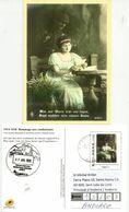 Hommage Aux Combattants Allemands 1914-1918. Entier Postal Francais , Adressé En Andorre - WW1