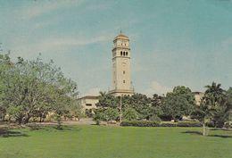 UNIVERSITY RIO PIEDRAS. TOWER, CARRILLON AND CAMPUS. PUERTO RICO CPSM, CIRCA 1970's. NON CIRCULEE -LILHU - Puerto Rico