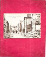 GUERRE  1914   -   Ruines De REIMS - Rue Du Cerf - Au Dos Adresse Jacques MARFAN  - 070820 - - Guerre 1914-18