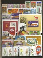 Allemagne DDR 1976 - Année Complète MNH - YT 1786/1868 + BF 39 à 41 - 4 Scans - Briefmarken