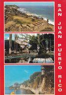 SAN JUAN. PUERTO RICO. MULTIVIEW CPSM, CIRCA 1980's. NON CIRCULEE -LILHU - Puerto Rico