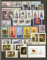 Allemagne DDR 1977 - Année Complète MNH - YT 1875/1956 + BF 42 à 48 - 3 Scans - Briefmarken