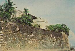 OLD WALL OF SAN JUAN. THE GOVERNOR'S PALACE. PUERTO RICO CPSM, CIRCA 1960's. NON CIRCULEE -LILHU - Puerto Rico