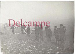 Photographie De 1910 : Tirs Au Dessus De Chateaudouble -  3e Groupe Dans Le Vercors 6° Régiment D'Artillerie - - Guerra, Militares