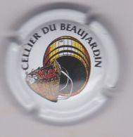 Capsule Mousseux ( CELLIER DU BEAUJARDIN , Crèmant De Loire ) {S34-20} - Sparkling Wine