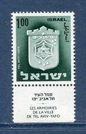 Israël - YT N° 571 - Neuf Sans Charnière - 1975 - Unused Stamps (with Tabs)