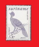 Suriname 1979, Yv. A 81,  Black Curassow Bird / Oiseau Hocco Alector MNH ** - Gallinacées & Faisans
