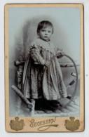 TRIESTE      CARTONCINO  DA  VISITA  1860-PRIMI 1900 CM. 6-6,5 X 10.10,5     2  SCAN - Cartoncini Da Visita