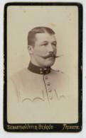 TRIESTE     CARTONCINO  DA  VISITA  1860-PRIMI 1900 CM. 6-6,5 X 10.10,5     2  SCAN - Tarjetas De Visita