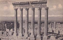 BAALBEK -  Les 6 Colonnes  Du Grand Temple - Libano