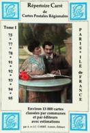 Repertoire Carré De Cartes Postales Régionales   1989 - Collector Fairs & Bourses