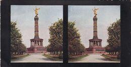 BERLIN. COLONNE DE LA VICTOIRE. CHROMOPLAST-BILD SERIE 7 Nº 60. PHOTO STEREOSCOPIE.  -LILHU - Photos Stéréoscopiques