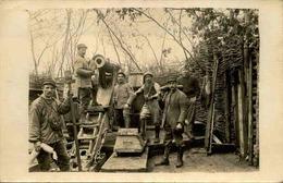 MILITARIA - Carte Postale Photo - Pièce D'artillerie Avec Ses Servants - L 66090 - Weltkrieg 1914-18