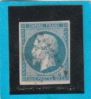 N° 14 A   -  PC 2889  SEVRES ( 72 ) SEINE & OISE Pour Planchage - LOT JC + Variété - 1853-1860 Napoléon III