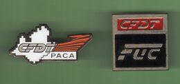 CFDT *** Lot De 2 Pin's Differents *** 1071 (29) - Verenigingen