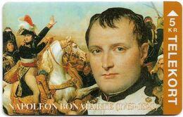 Denmark - TS - Famous Personalities - Napoleon Bonaparte - TDTP057 - 04.94, 2.000ex, Used - Denmark
