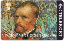 Denmark - TS - Vincent Van Gogh - TDTP054 - 04.94, 2.000ex, Used - Denmark