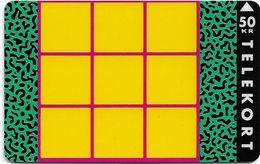 Denmark - TS - Tic-Tac-Toe Game - TDTS005 (Cn. 4102) - 11.1992, 50kr, 2.000ex, Used - Denmark