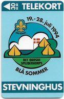 Denmark - TS - Blue Summer Scout Camp - TDTS012 - 04.94, 30.000ex, Used - Denmark