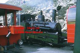 Reproduction D'unePhotographie D'une Locomotive Vapeur à Crémaillère BRB Brienz Rothorn Bahn En Suisse En 1972 - Riproduzioni
