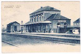 Bourg-Léopold - Station - Leopolsburg - Statie 1933  (Geanimeerd) - Leopoldsburg