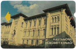 Turkey - Alcatel - PTT - 3rd Series (15mm) 1994, T-29 - Kastamonu Government Building, 30U, Used - Turquie