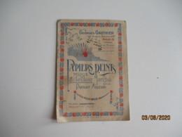 1920  Papiers Peints Georges Gauthier Paris Calendrier - Petit Format : 1901-20