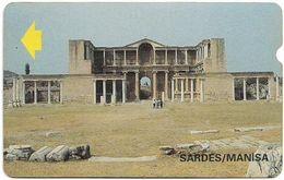 Turkey - Alcatel - PTT - 3rd Series (15mm) 1994, T-41 - Sardes Ruins, Manisa, 60U, Used - Turquie