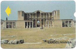 Turkey - Alcatel - PTT - 3rd Series (15mm) 1994, T-42 - Sardes Ruins, Manisa, 100U, Used - Turquie