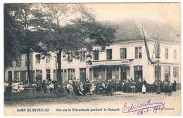 Camp De Beverloo - Vue Sur Le Clarenbach Pendant Le Concert 1907 - Leopoldsburg