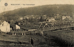 Walcourt Vue Panoramique Circulée En 1939 - Walcourt